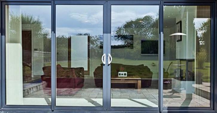 Двери из пластикового и алюминиевого профиля 7