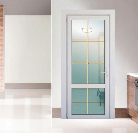 Двери из пластикового и алюминиевого профиля 2