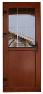 Двери из пластикового и алюминиевого профиля